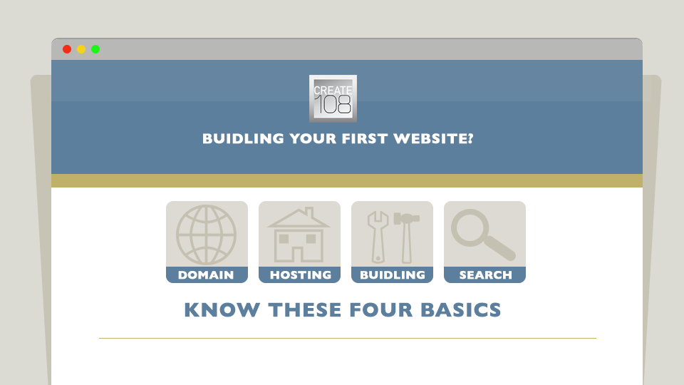 New Startup - My First Website - Know These Four Basics