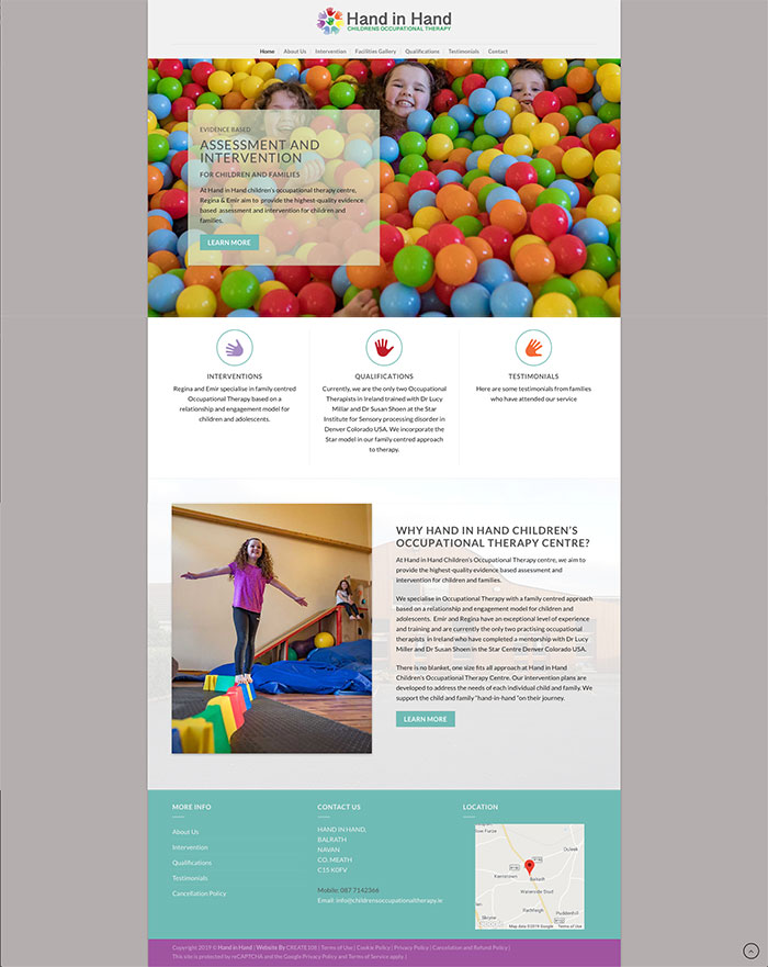 Hand in Hand Childrens Occupational Therapy Centre